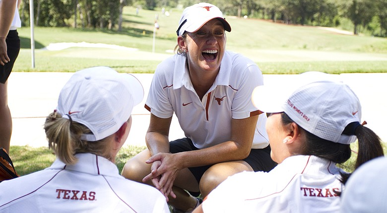 Martha Richards says she will step down at Texas at the conclusion of the season.