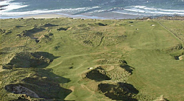 Carne Golf Links on Ireland's west coast.