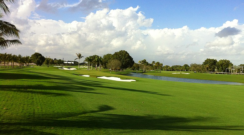 The new No. 1 at Doral.