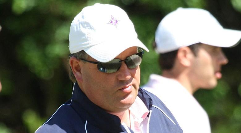 Furman men's golf coach Todd Satterfield