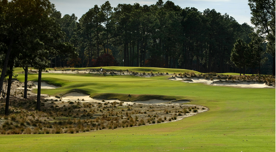 A good story to be told by the USGA about its forthcoming national championships is the different look at Pinehurst -- scruffier, less green, less manicured, and also firmer and faster. Luck will play more than a small role.