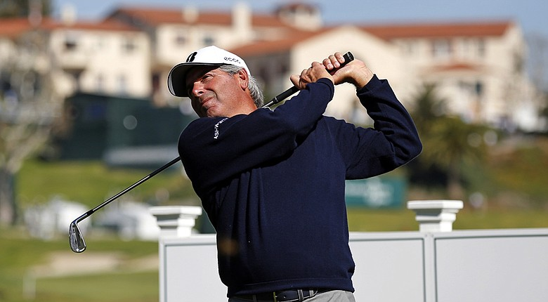 Fred Couples will play with Jordan Spieth and Webb Simpson on Thursday at the Northern Trust Open.