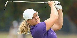 Behind ace, Hedwall leads Women's Australian Open