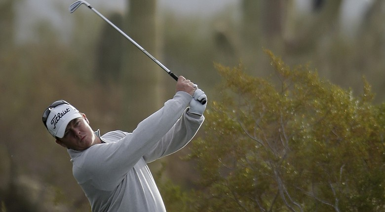George Coetzee during his first-round win at the 2014 WGC-Accenture Match Play at Dove Mountain in Marana, Ariz.