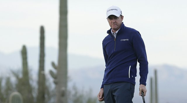 Jimmy Walker during his first-round win of the 2014 WGC-Accenture Match Play at Dove Mountain in Marana, Ariz.