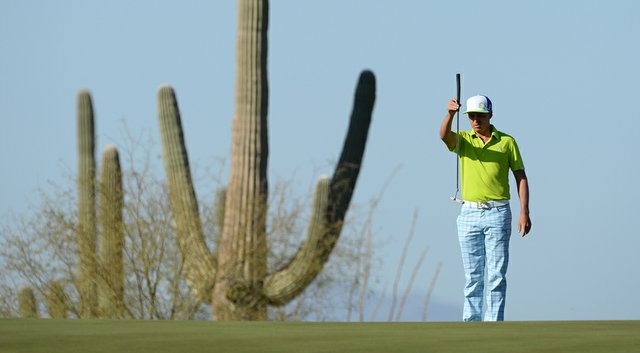 Rickie Fowler dispatched of Jimmy Walker on Thursday to advance to face Sergio Garcia on Friday.