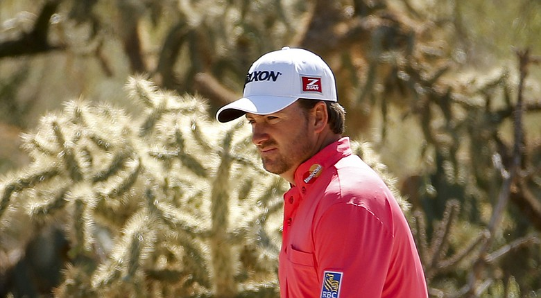 Graeme McDowell during the 2014 WGC-Accenture Match Play at Dove Mountain in Marana, Ariz.