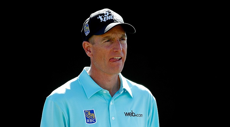 Jim Furyk during the 2014 WGC-Accenture Match Play at Dove Mountain in Marana, Ariz.