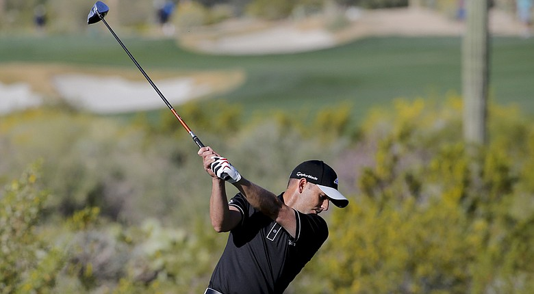 Sergio Garcia during the 2014 WGC-Accenture Match Play at Dove Mountain in Marana, Ariz.