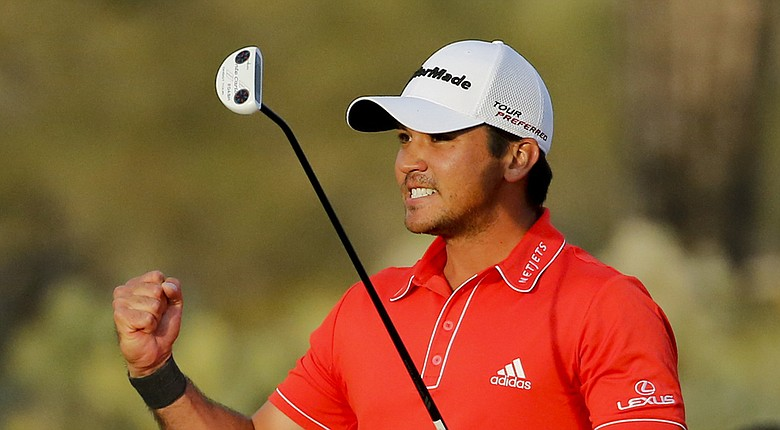 Jason Day during his win at the 2014 WGC-Accenture Match Play at Dove Mountain in Marana, Ariz.