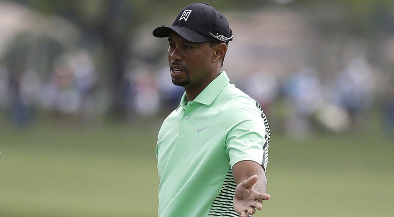 Tiger Woods during Friday's second round of the PGA Tour's 2014 Honda Classic at PGA National in Palm Beach Gardens, Fla.