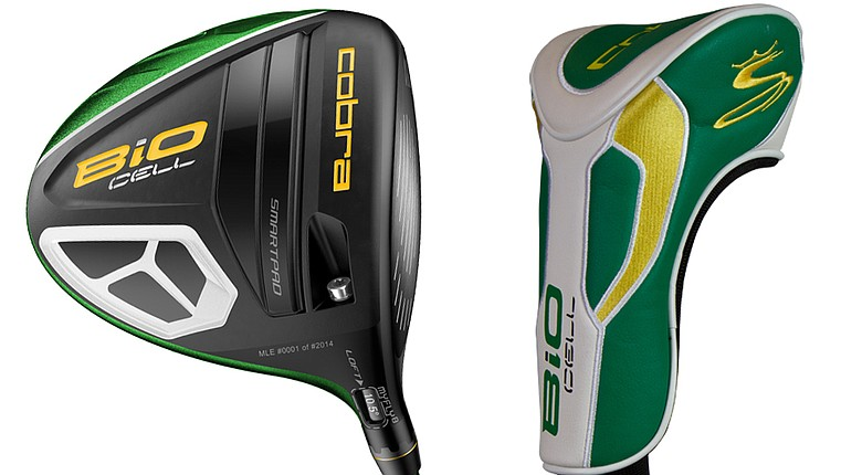 The newest Cobra collectible driver is a green BiO Cell model in celebration of the year's first major championship, the Masters.