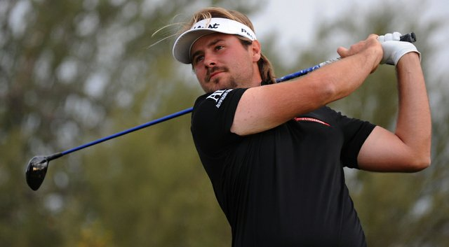 Late Tuesday night, Victor Dubuisson's clubs arrived for the WGC-Cadillac Championship.