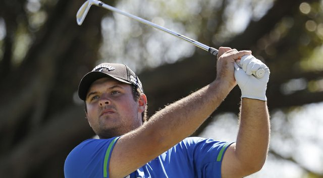 Patrick Reed during the third round of the 2014 WGC-Cadillac Championship at Trump National Doral (Fla).