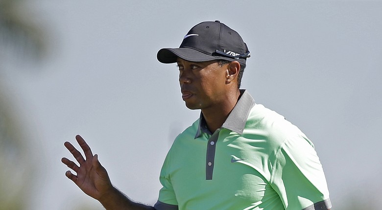Tiger Woods during the third round of the 2014 WGC-Cadillac Championship at Trump National Doral (Fla).