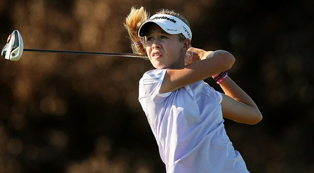 Nelly Korda will play in the LPGA's 2014 Kraft Nabisco Championship as an amateur (shown here during the 87th South Atlantic Amateur at Oceanside Country Club in Ormond Beach, Fla.).