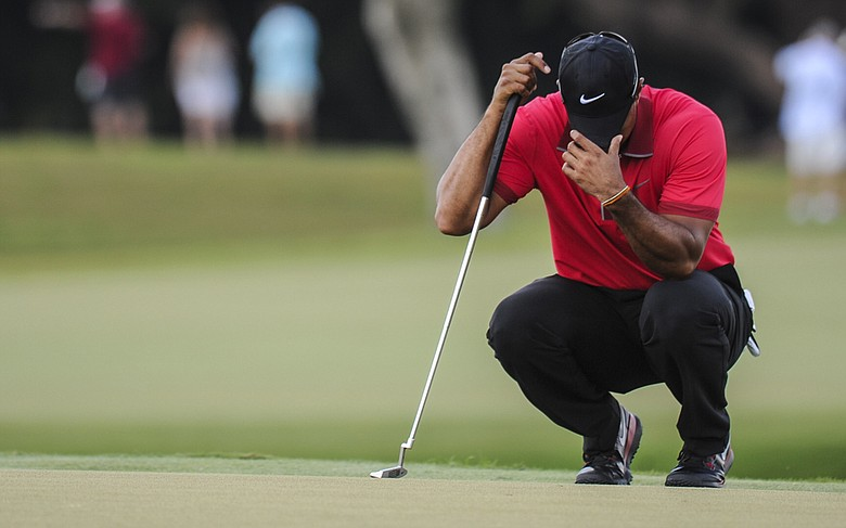 Once thought to set up well for Tiger Woods, the major venues for 2014 will now become obstacles with course changes, not to mention Woods' injured back.