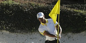Woods tops early odds for 2014 Masters
