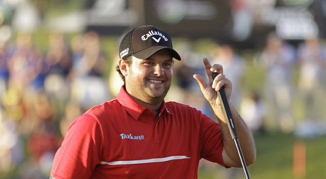 Patrick Reed is thinking of his Augusta, Ga., roots and playing in the Masters after winning the PGA Tour's 2014 WGC-Cadillac Championship (shown here).