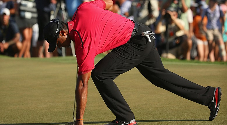 Tiger Woods says he has yet to determine whether he'll be able to play in next month's Masters.