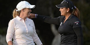 Kerr, Salas tied for lead at LPGA's Kia Classic