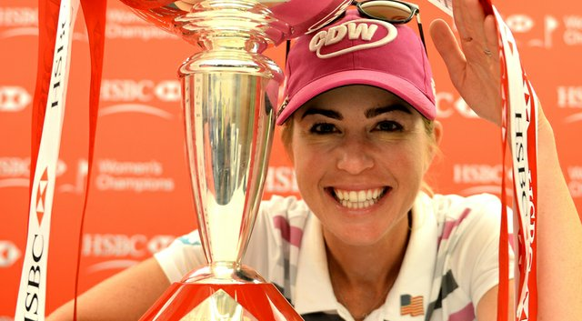 Paula Creamer finds herself happy on and off the course, getting engaged to Derek Heath and winning her first tournament since 2010.