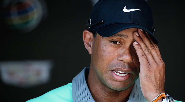 Tiger Woods has played in only three PGA Tour tournaments this season, a stark contrast to his hot start in 2013.