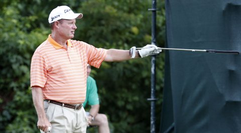 Joe Durant turns 50 in April 2014, allowing him to play a mixed PGA Tour and Champions Tour schedule.