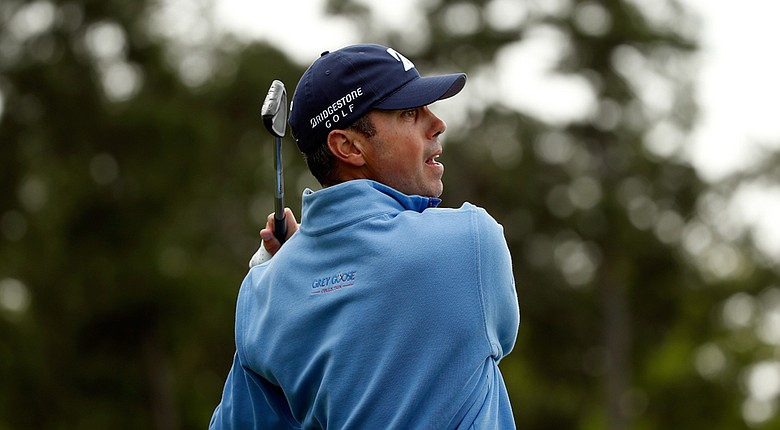 Matt Kuchar during Saturday's third round of the PGA Tour's 2014 Shell Houston Open.