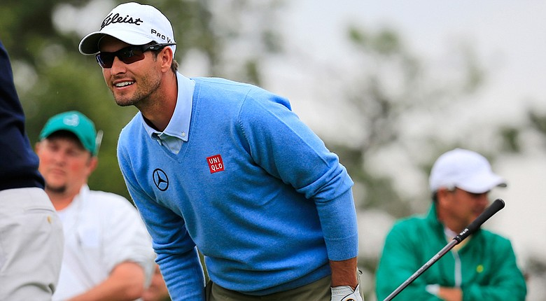 Adam Scott is a co-favorite for this week's Masters with Rory McIlroy.