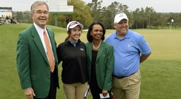 Pate, 14, helps make history at Augusta National