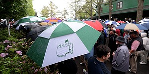 Heavy rain, thunderstorms force closure of Augusta National