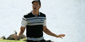 Fun-loving Stenson takes Augusta's greens seriously