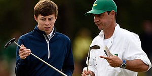 Fitzpatrick adds some experience on his bag at Augusta