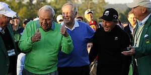 Big Three offer big thrills to open 2014 Masters