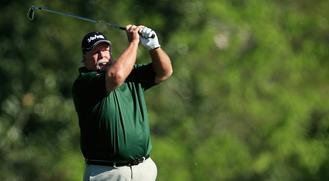 Craig Stadler shot a 10-over 82 on Thursday at the Masters and called himself a 'moron' in a post-round interview.