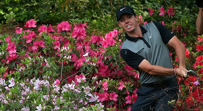 Rory McIlroy used a solid finish to salvage a 4-over 76 and a spot on the weekend at the Masters.