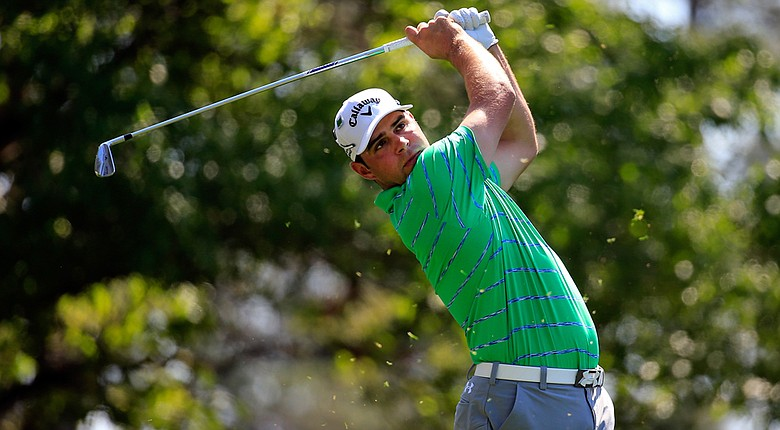 Gary Woodland made the turn at 6-under 30 on Saturday, and then started the back nine with a birdie.