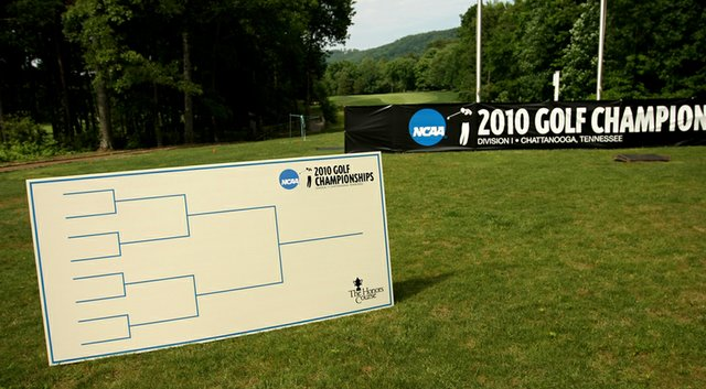 The men have used the match-play format at the NCAA Championships for five years.