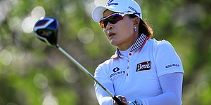 Trio tied for lead in LPGA LOTTE tournament