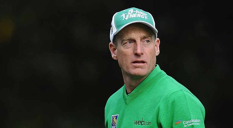 Jim Furyk during the PGA Tour's 2014 RBC Heritage in Hilton Head Island, S.C.