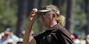 Jimenez leads Langer by 1 shot in Greater Gwinnett