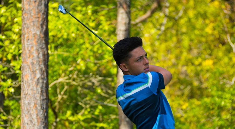 Marco Penge of England during a junior-am round at the Junior Invitational at Sage Valley.