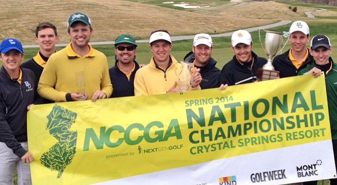 Baylor at the 2014 NCCGA Spring National Championship.
