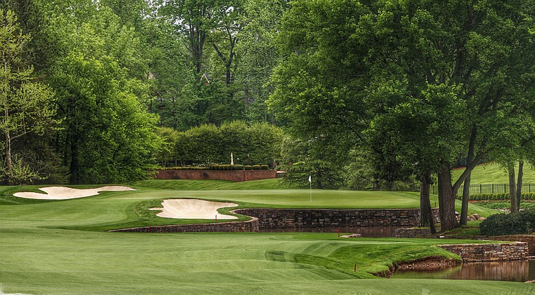 Quail Hollow in Charlotte, N.C., underwent some changes before playing host to the PGA Tour's Wells Fargo Championship.