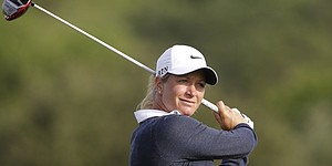 Pettersen leads Wie, three others by a shot