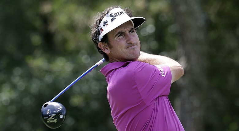 Gonzalo Fernandez-Castano during Thursday's first round of the PGA Tour's 2014 Players Championship at TPC Sawgrass in Ponte Vedra Beach, Fla.