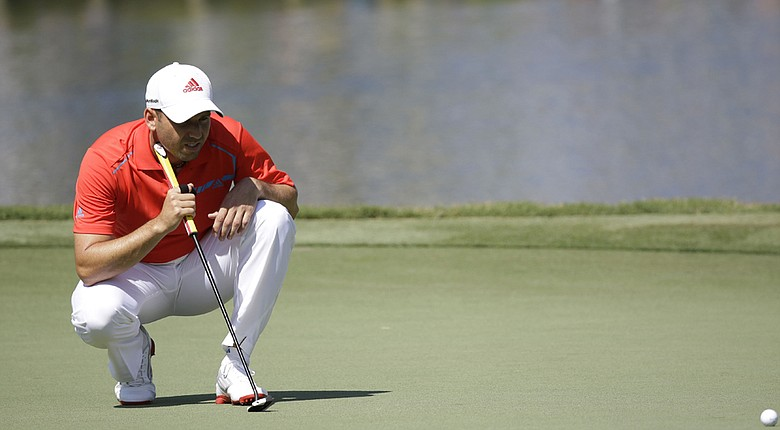 Sergio Garcia during Thursday's first round of the PGA Tour's 2014 Players Championship at TPC Sawgrass in Ponte Vedra Beach, Fla.