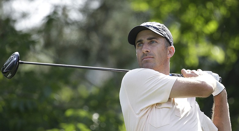 Geoff Ogilvy during Friday's second round of the PGA Tour's 2014 Players Championship at TPC Sawgrass.
