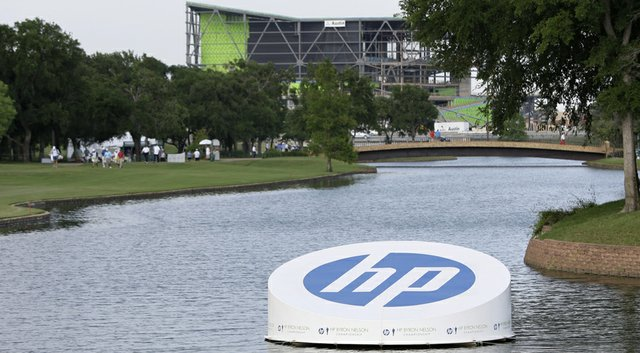 TPC Four Seasons Resort plays host to the PGA Tour's 2014 HP Byron Nelson Championship in Irving, Texas.